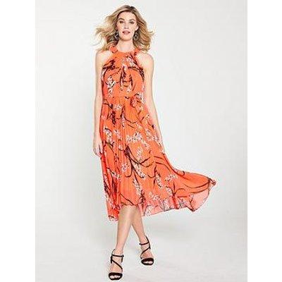 Karen Millen Karen Millen Trailing Oriental Print Midi Dress