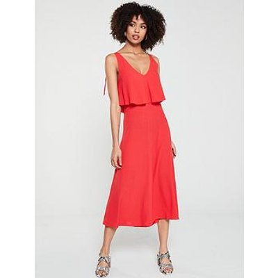 Whistles Romina Dress - Red