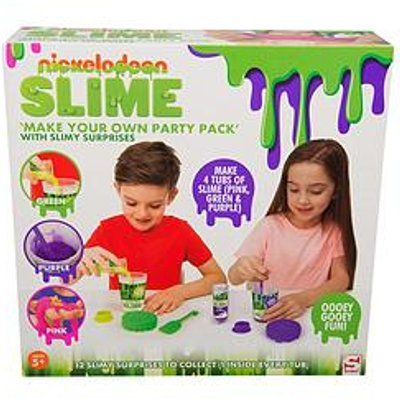 Nickelodeon Nickelodeon Slime Create Your Own Party Pack