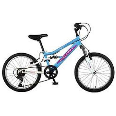 """Moonstone Full Suspension Kids 20"""" Wheel Bike"""