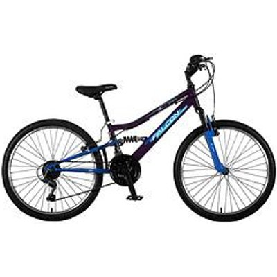 Falcon Falcon Siren Girls Bike 24 Inch Wheel Dual Suspension Bike