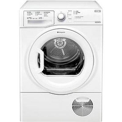 Hotpoint Tcfs83Bgp 8Kg Load Condenser Sensor Tumble Dryer - White