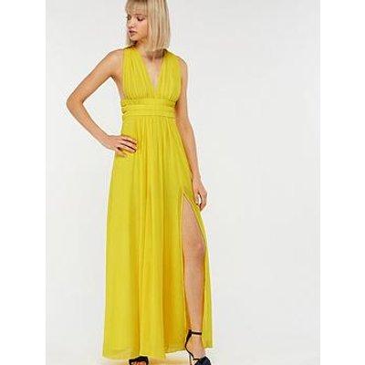 Monsoon Amber Maxi Dress - Yellow