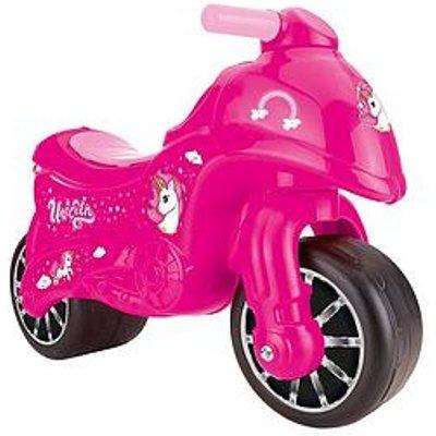 Dolu Moto Pink Unicorn Ride On