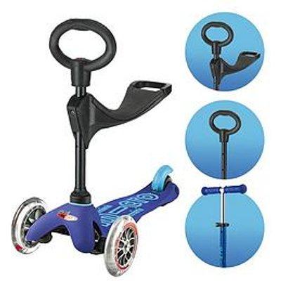 Micro Scooter 3-In-1 Mini Micro Deluxe &Ndash; Blue