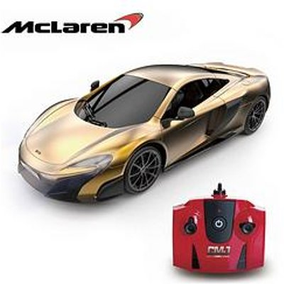 1:24 Scale Mclaren Gold 2.4Ghz Remote Control Car