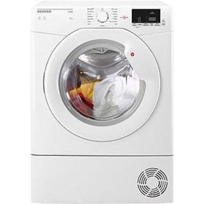 Hoover Link Hlc8Dg 8Kg Sensor Condenser Tumble Dryer With One Touch - White