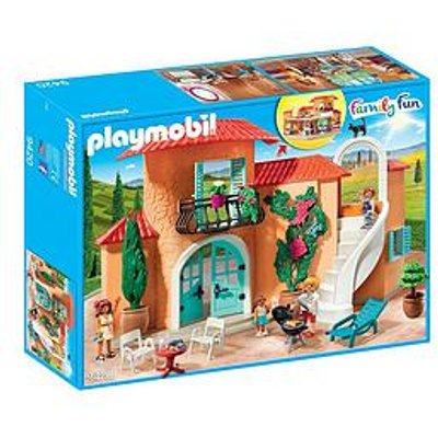 Playmobil Playmobil 9420 Family Fun Summer Villa With Balcony