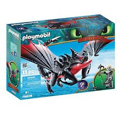 Playmobil Dreamworks Dragons Deathgripper With Grimmel By Playmobil