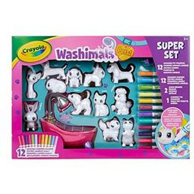Crayola Washimals Pets Super Set
