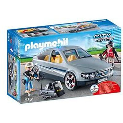 Playmobil Playmobil City Action Swat Undercover Car With Flashing Light
