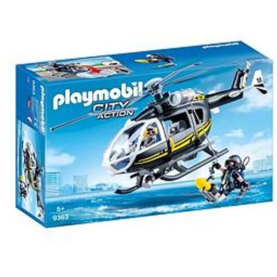 Playmobil City Action Swat Helicopter