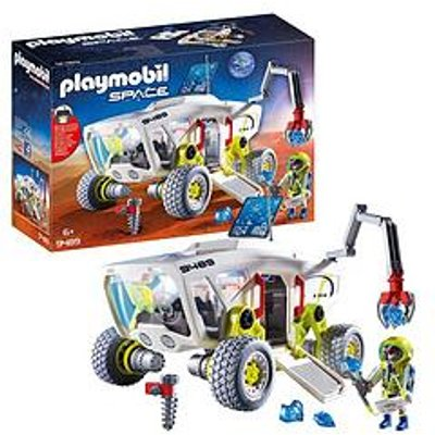 Playmobil Playmobil 9489 Space Mars Research Vehicle With Interchangeable Attachments