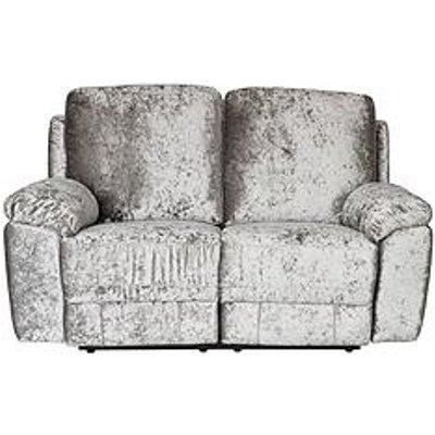 Castille Fabric 2 Seater Manual Recliner Sofa