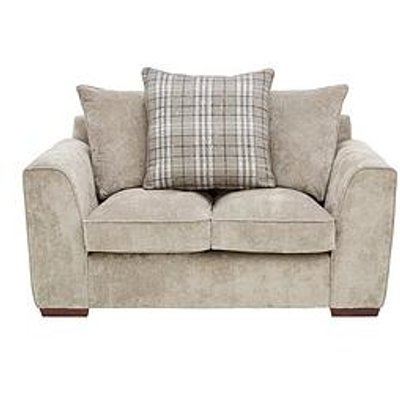 Campbell Fabric 2 Seater Scatter Back Sofa