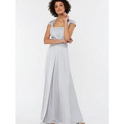 Monsoon Natasha Jersey Maxi Dress - Silver