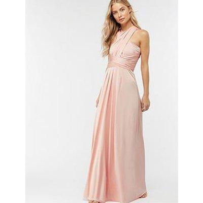 Monsoon Natasha Jersey Maxi Dress - Pink