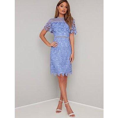 Chi Chi London Chi Chi Willow Dress - Blue