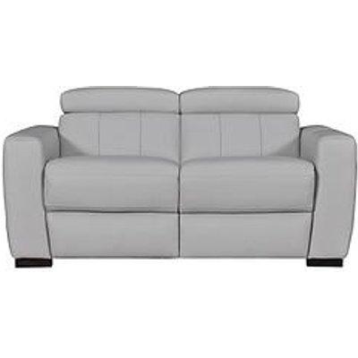 Loire Premium Leather 2 Seater Power Recliner Sofa