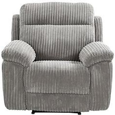Baron Fabric Manual Recliner Armchair