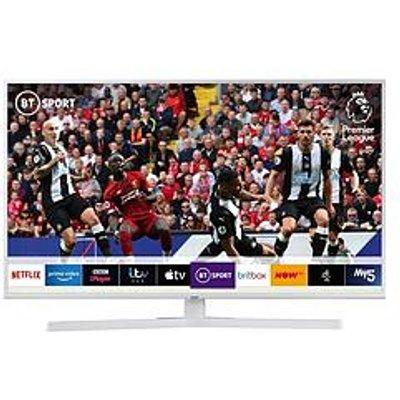 Samsung Ue43Ru7410 (2019) 43 Inch, Dynamic Crystal Colour, Ultra Hd 4K Certified, Hdr, Smart Tv &Ndash; White