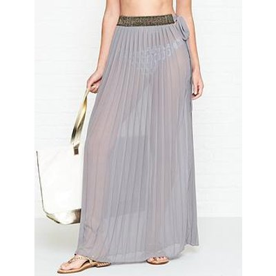 West Seventy Nine Dreamcatcher Maxi Skirt - Grey