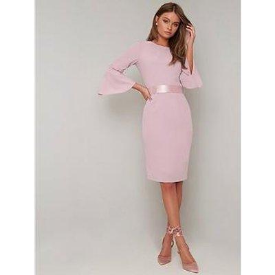 Chi Chi London Yohana Dress - Pink