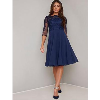 Chi Chi London Carmella Lace Dress