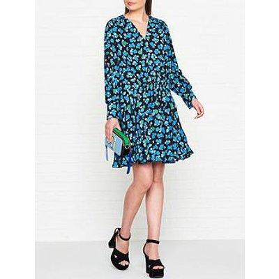 Kenzo Ditsy Peonie Print Tunic Dress - Blue