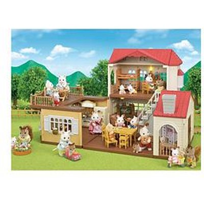 Sylvanian Families Red Roof Country Home Gift Set