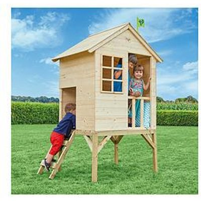 Tp Sunnyside Wooden Tower Playhouse