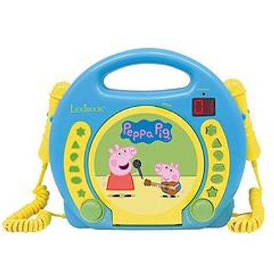 Lexibook Peppa Pig Cd Player With 2 Mics
