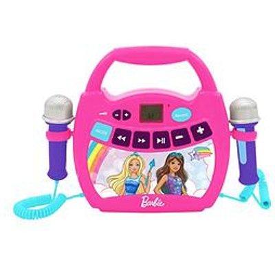 Lexibook Barbie Digital Sing Along Digital Player