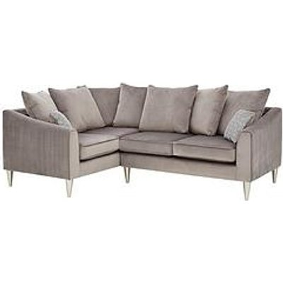 Laurence Llewelyn-Bowen Apollo Fabric Left Hand Scatter Back Corner Group Sofa