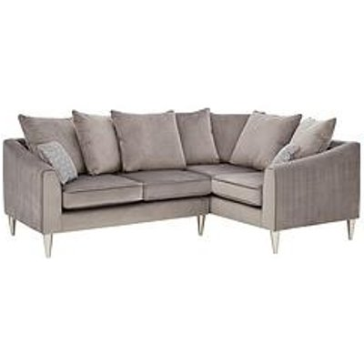 Laurence Llewelyn-Bowen Apollo Fabric Right Hand Scatter Back Corner Group Sofa