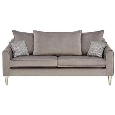 Laurence Llewelyn-Bowen Apollo Fabric 3 Seater Scatter Back Sofa