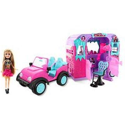 Sparkle Girlz Sparkle Girlz Jeep With Doll And Beauty Salon