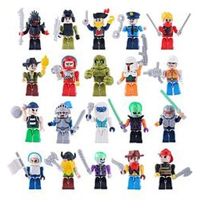 Zuru Max Build More Construction 30 Figure Pack