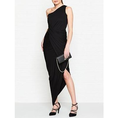 Vivienne Westwood Anglomania Vian One Shoulder Jersey Dress - Black