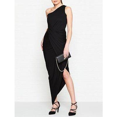Vivienne Westwood Anglomania Vian One Shoulder Jersey Dress - Black