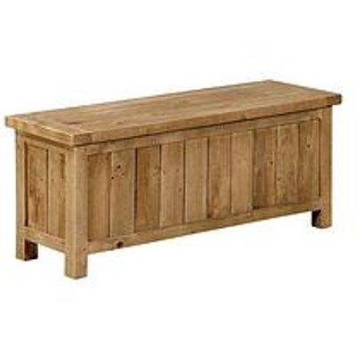 Julian Bowen Aspen Solid Pine Storage Bench