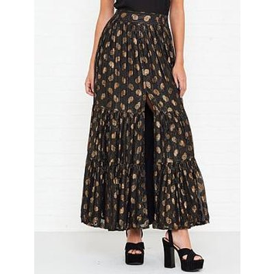 Sundress Jade Maxi Skirt - Black