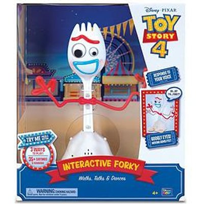 Toy Story Forky With Interactive Walking, Talking And Dancing - 10 Inch Talking Action Figure