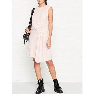 Allsaints Duma Jersey Dress - Pink
