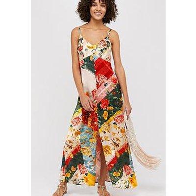Monsoon Oana Print Slip Dress
