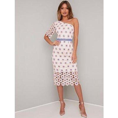 Chi Chi London Winona Bodycon Dress - White