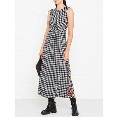 Mcq Alexander Mcqueen Mixed Print Sleeveless Maxi Dress - Multi
