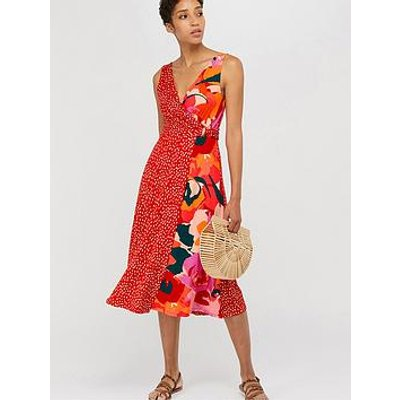 Monsoon Saige Jersey Print Midi Dress