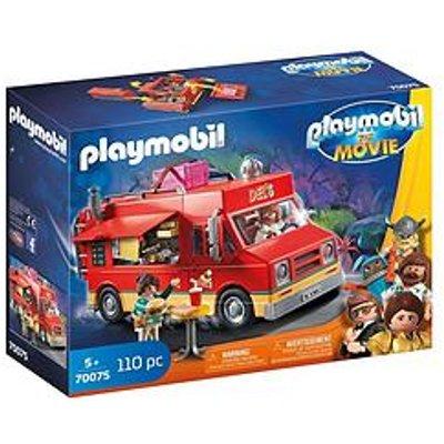 Playmobil Playmobil 70075 The Movie Del'S Food Truck