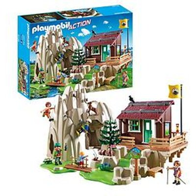Playmobil Playmobil 9126 Action Rock Climbers With Cabin